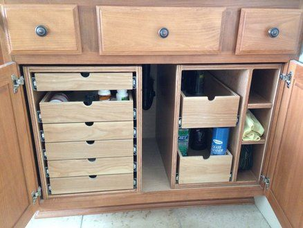 Bathroom Cabinet With Drawers